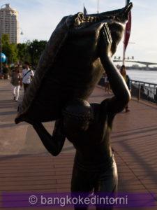 Statua in bronzo a memoria degli scaricatori dell'East Asiatic Company (2)