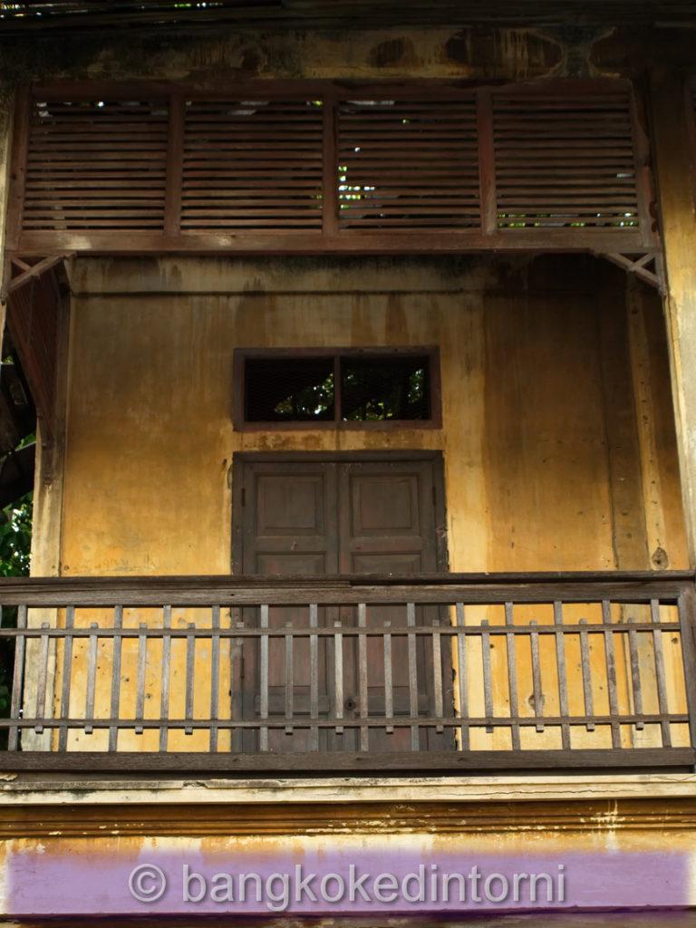 Dettaglio dell'edificio che ospitava gli uffici della East Asiatic Company