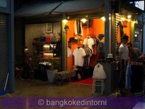 Uno dei tanti negozi di abbigliamento