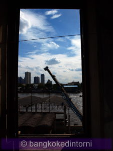 Vista sul fiume Chao Phraya