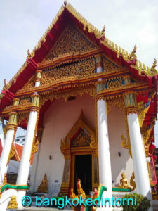 Facciata del Wat Sri Boon Ruang