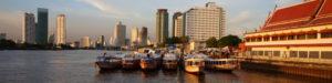 Bangkok from the Chao Phraya River