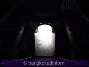 Labirinto di scale all'interno della vecchia dogana